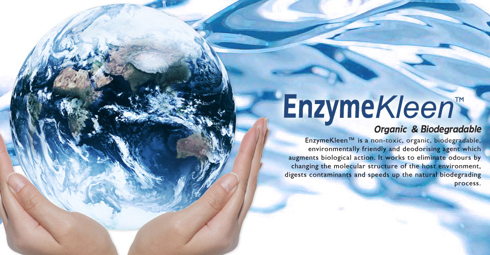 EnzymeKleen™ Industrial: Organic & Biodegradable