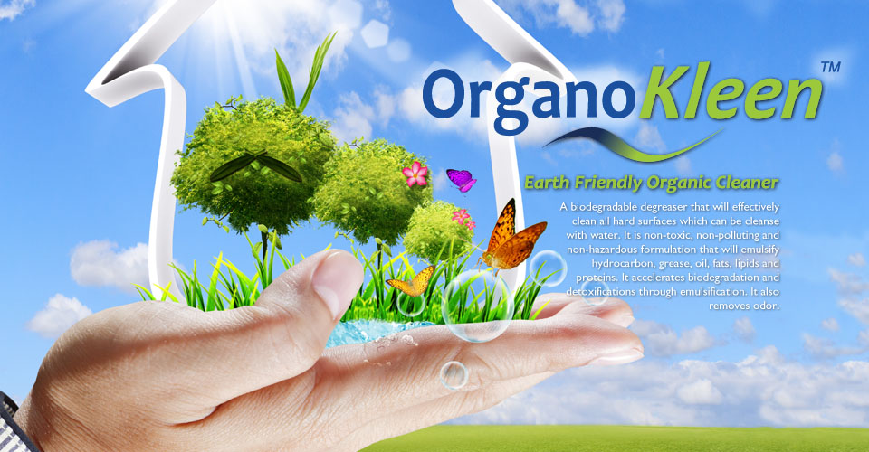 OrganoKleen™: Earth Friendly Organic Cleaner